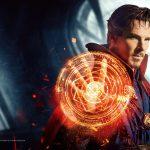 Benedict as doctor strange marvel