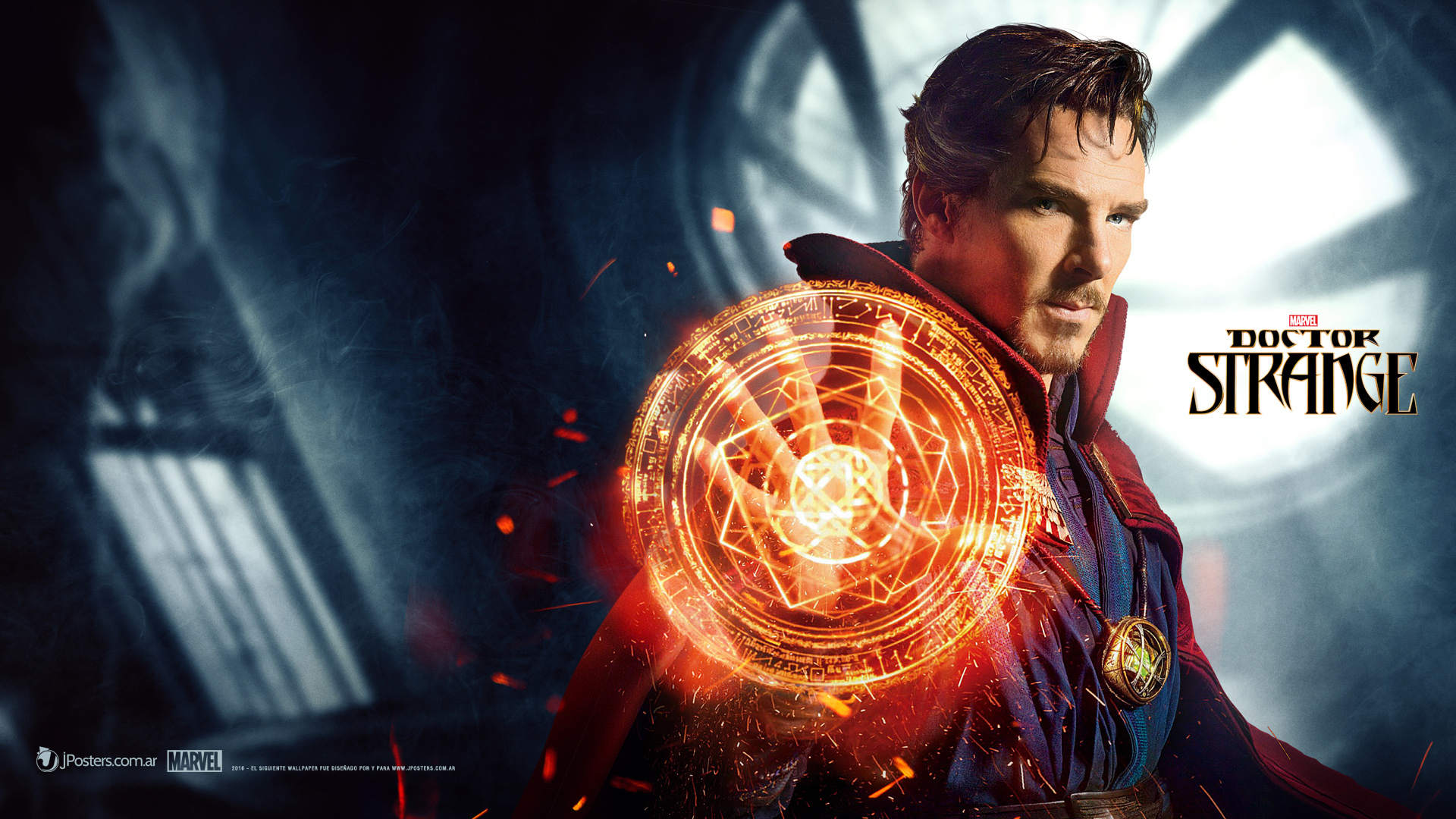 Benedict as doctor strange marvel