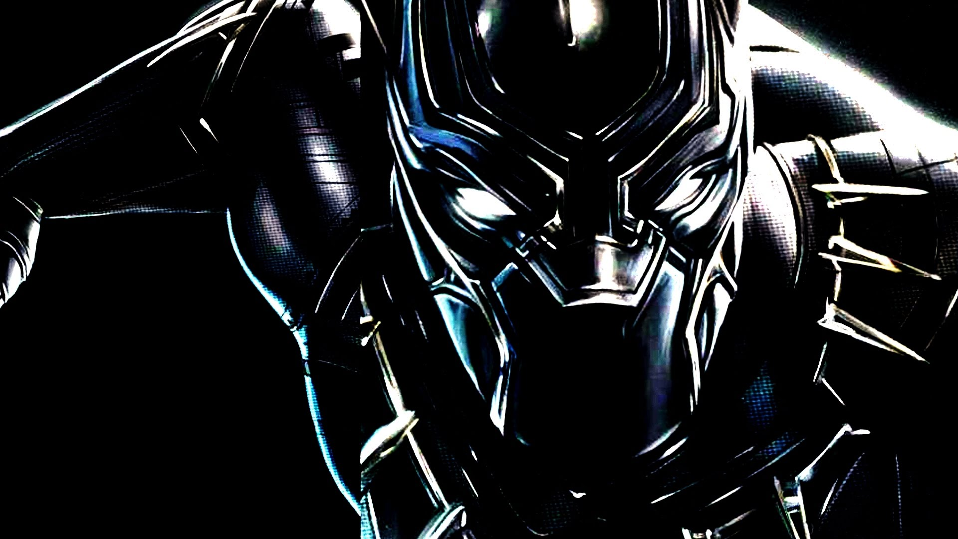 Black-Panther-Mask-Wallpaper • iOS Mode