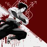Cool sasuke red white wallpaper