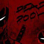 Deadpool iphone dark background