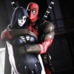 Deadpool with lover death