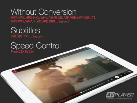 AVPlayer For iPhone & iPad