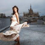 Elisabetta canalis cute background