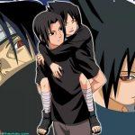 Itachi carries sasuke wallpaper