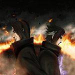 Itachi vs sasuke background