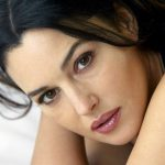 Monica bellucci face wallpaper