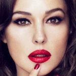 Monica bellucci hot lipstick