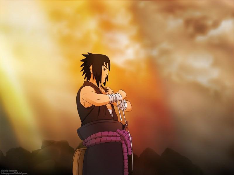 Sasuke cool background
