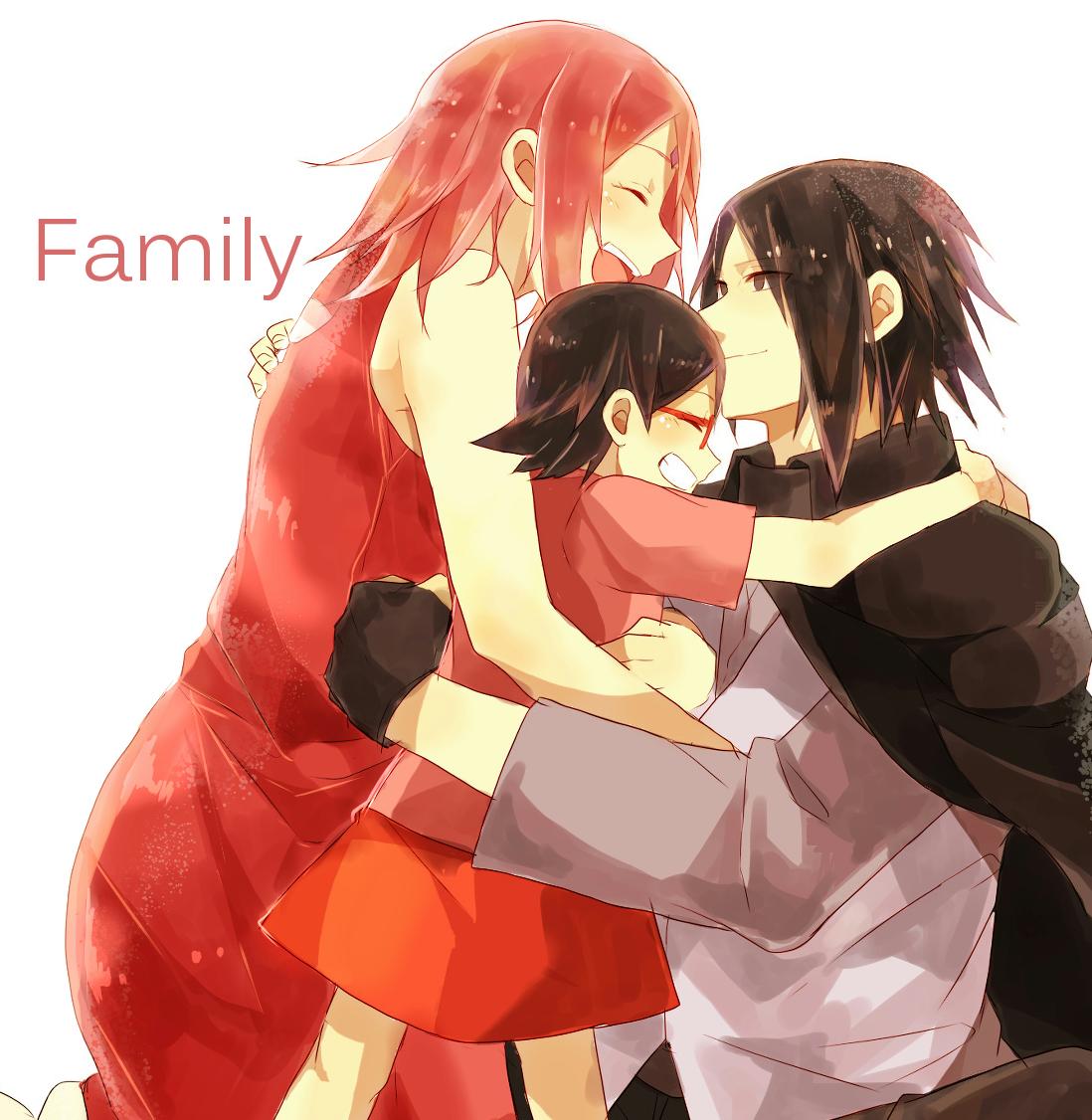 Sasuke family iphone background