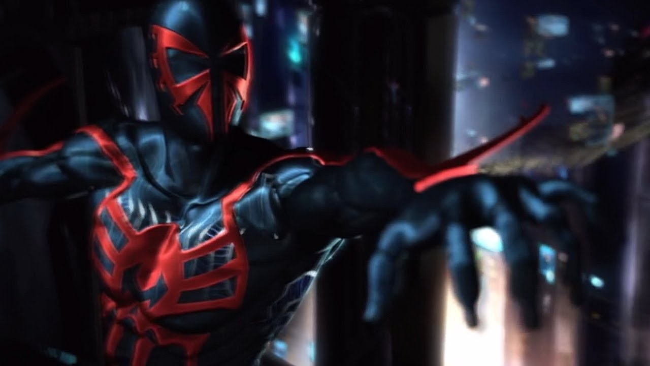 Cool Spiderman 2099 Wallpaper: Spiderman-2099-Wallpaper • IOS Mode