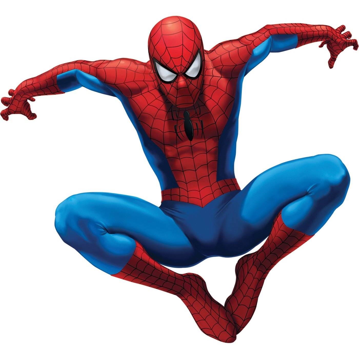 Spiderman-White-Background-Cool
