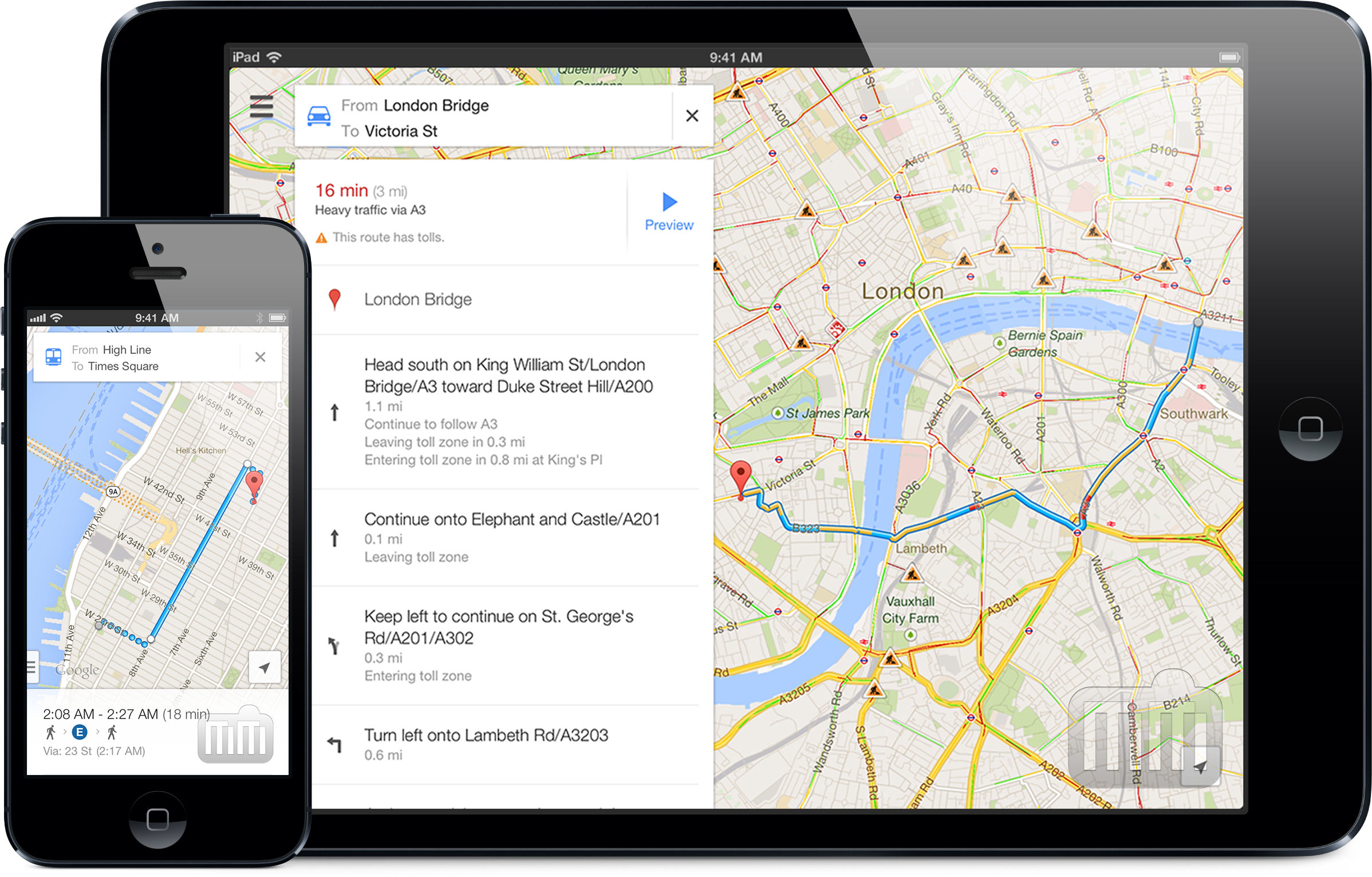Download Google Maps For iPhone & iPad