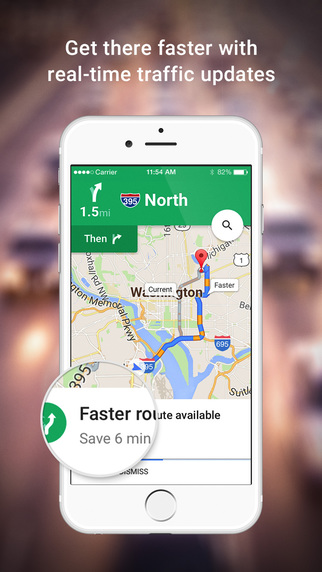 Google-Maps-For-iPhone • iOS Mode on