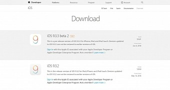, Apple Seeds Second Betas of iOS 9.3.3, watchOS 2.2.2, and OS X 10.11.6 to Devs