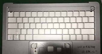 , New Apple MacBook Pro with OLED Touchpad Revealed in Leaked Photos