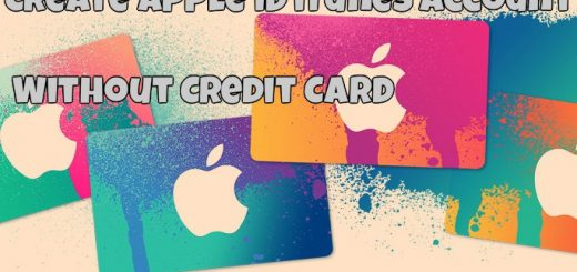 Create Apple ID without a credit card