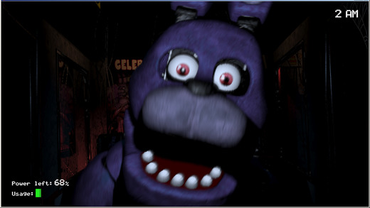 Five nights at freddys scary horror game