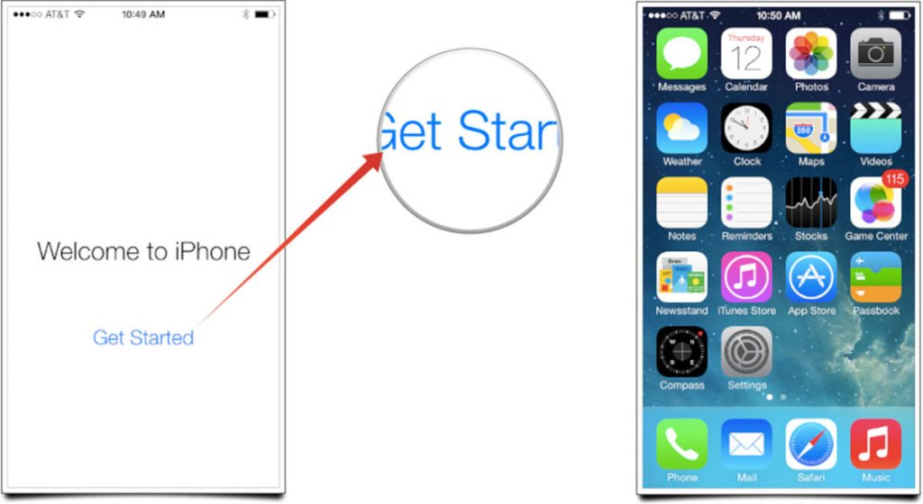 Set up your iPhone