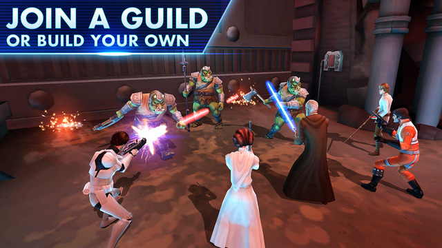 Star wars galaxy of heroes multiplayer