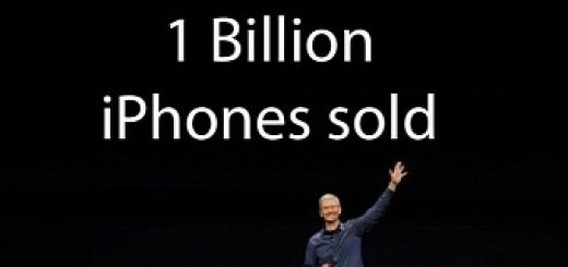 It s official apple has sold over 1 billion iphone devices