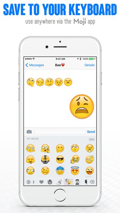 Moji Maker Custom Emoji Builder Ios Mode