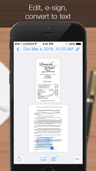 Iscanner iphone signature