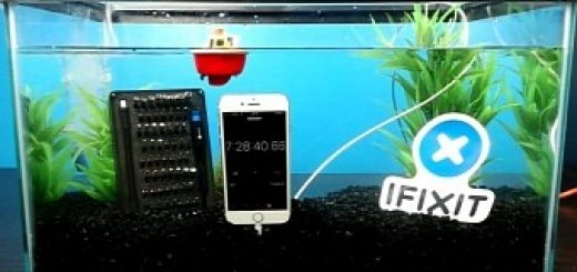 Iphone 7 survives more than 7 hours in a fish tank video