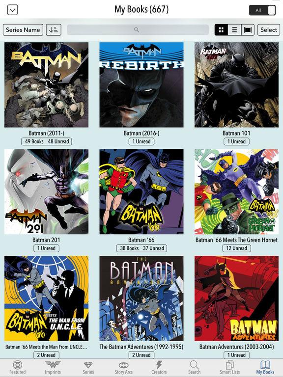 Dc comics app batman