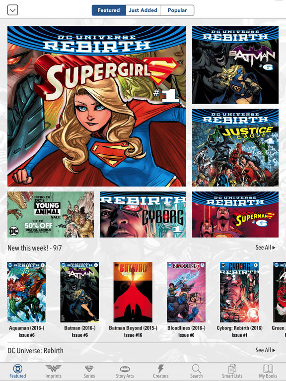 Read DC Comics