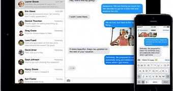 , Apple Actually Developed iMessage for Android with Material Design