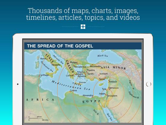 Niv study bible maps