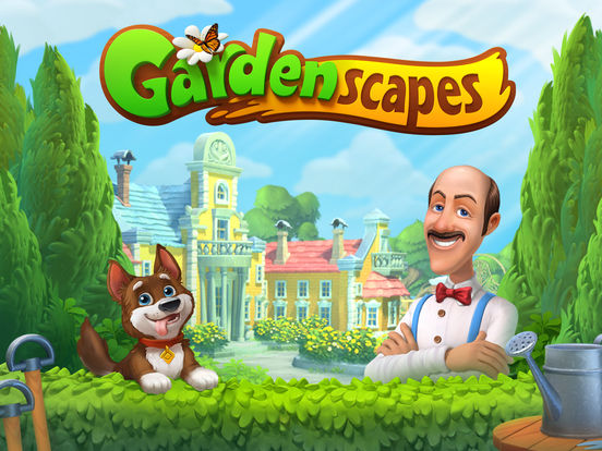 Gardenscapes New Acres Game For iPhone & iPad