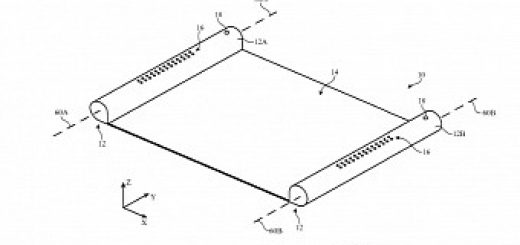 , Apple Files Patent for Scroll-Like iPhone With Retractable Display