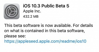 , Apple Seeds Beta 5 of iOS 10.3, watchOS 3.2 & tvOS 10.2 to Devs Public Testers