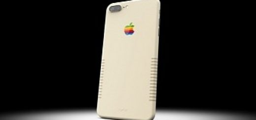 Iphone 7 plus retro with vintage mac design sells for 2 000