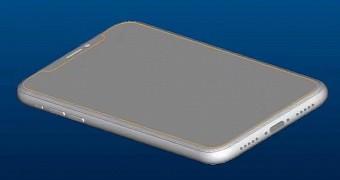 , Apple iPhone 8 Schematics Confirm Vertical Dual-Camera Setup