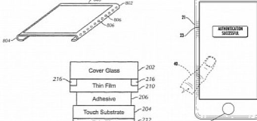 Apple receives patents for bezel less display and in screen touch id