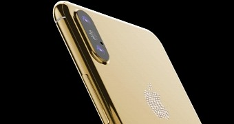, 24K Gold iPhone 8 with Diamonds Already Available for Pre-Order