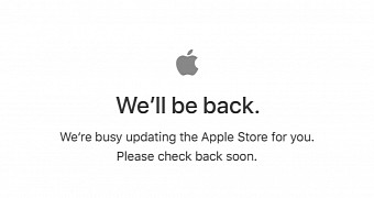 , Apple Store Down Ahead of iPhone 8 and iPhone X Launch