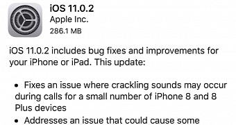, Apple Releases iOS 11.0.2 with iPhone 8 Fixes
