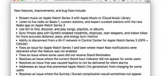 Leaked watchos 4 1 release notes confirm music streaming on apple watch series 3