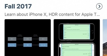 , Apple Updates Its WWDC iOS App with Support for iPhone X and iOS 11