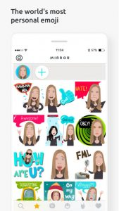 Emoji, Download Mirror Emoji Keyboard For iOS