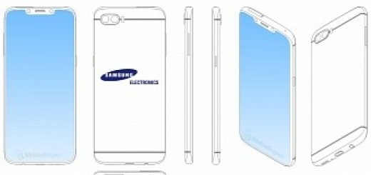 , Samsung Exploring Phone Design with Notch, A La iPhone 6 Back