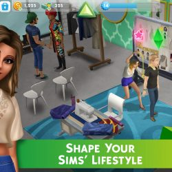 Getting a job sims