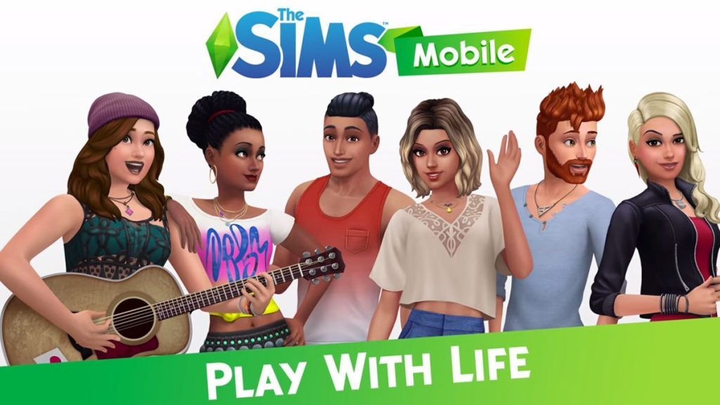 The Sims Mobile game for iOS