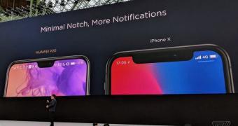 , Huawei Has a Really Weird Sense of Humor Regarding the iPhone X Notch