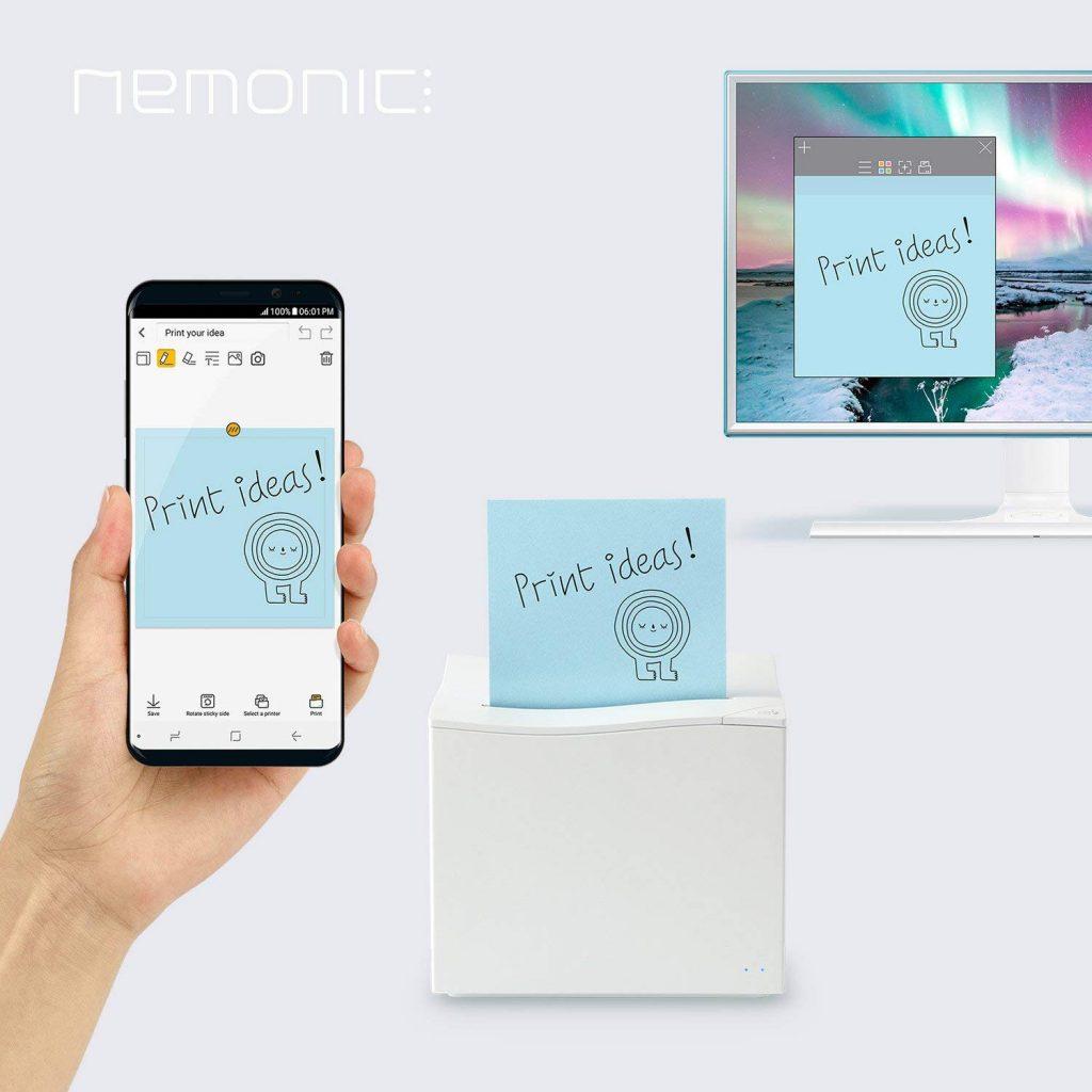 Nemonic Printer Logo