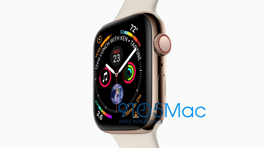 Apple Watch Series 4 Leaked in All Its Glory with Larger ...